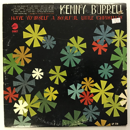 Kenny Burrell - Have Yourself a Soulful Little Christmas - MONO - vinyl record LP