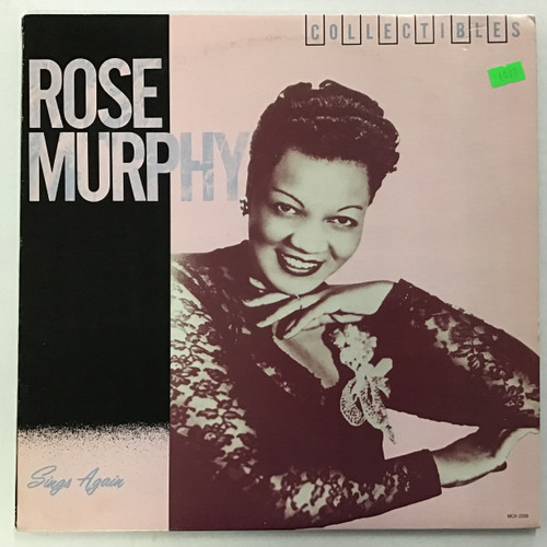 Rose Murphy - Sings Again vinyl record LP