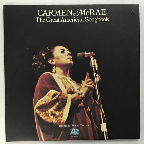 Carmen McRae - The Great American Songbook Vinyl Record LP