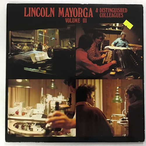 Lincoln Mayorga and Distinguished Colleagues - Volume 3 vinyl record LP