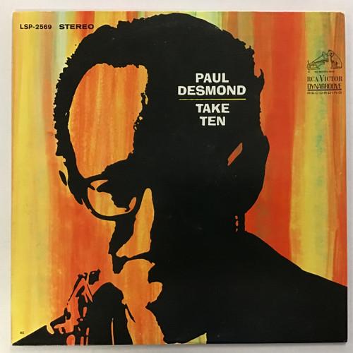 Paul Desmond - Take Ten vinyl record LP