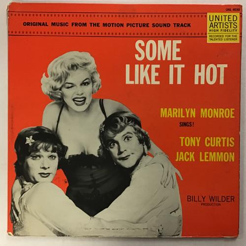 Some Like It Hot Soundtrack - Vinyl Record Lp