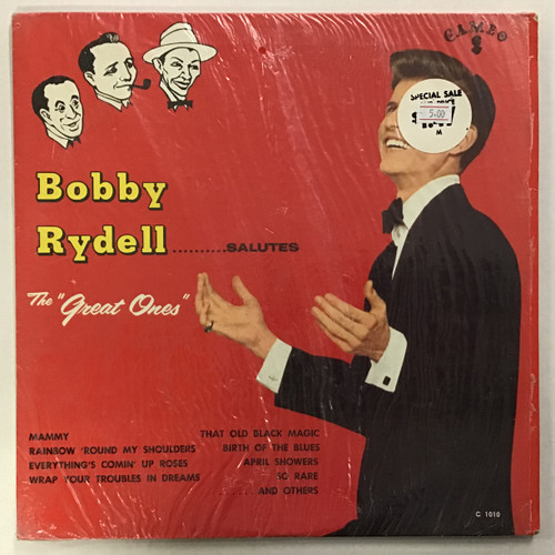 Bobby Rydell - Salutes The Great Ones vinyl record LP