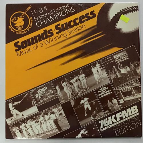 Sounds of Success - 1984 National League Champions San Diego Padres vinyl record LP