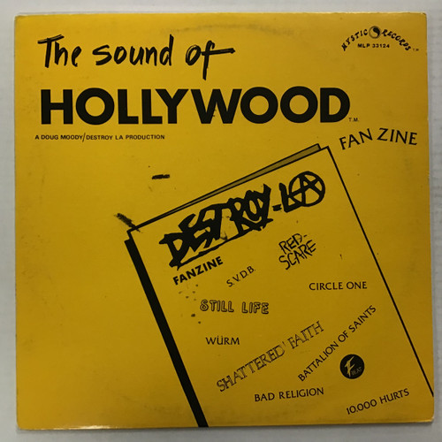 The Sound Of Hollywood - Compilation - vinyl record LP