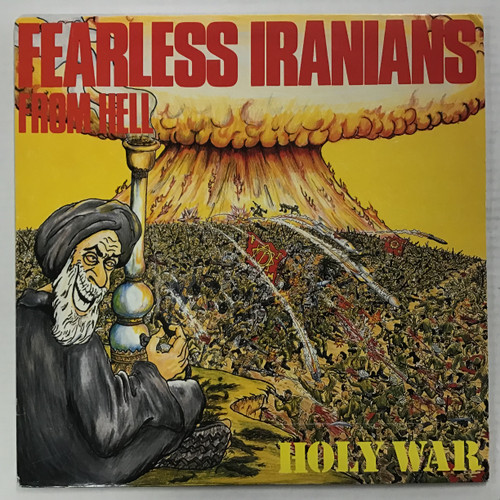 Fearless Iranians From Hell - Holy War vinyl record LP