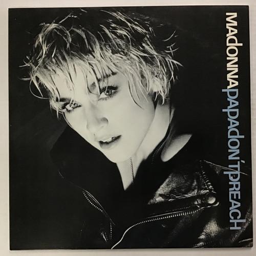 "Madonna - Papa Don't Preach - 12"" single vinyl record"