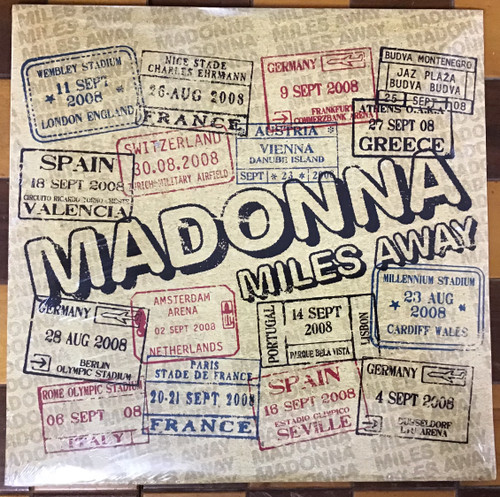 Madonna - Miles Away Remixes  SEALED vinyl record