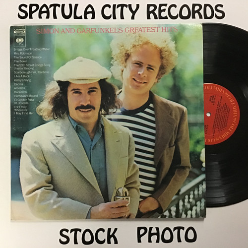 Paul Simon and Art Garfunkel - Greatest Hits vinyl record LP