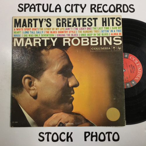 Marty Robbins - Marty's Greatest Hits  - vinyl record LP