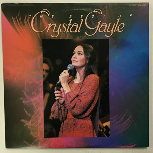Crystal Gayle - The Best Of vinyl Record LP