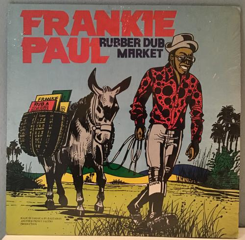 Frankie Paul - Rubber Dub Market vinyl record
