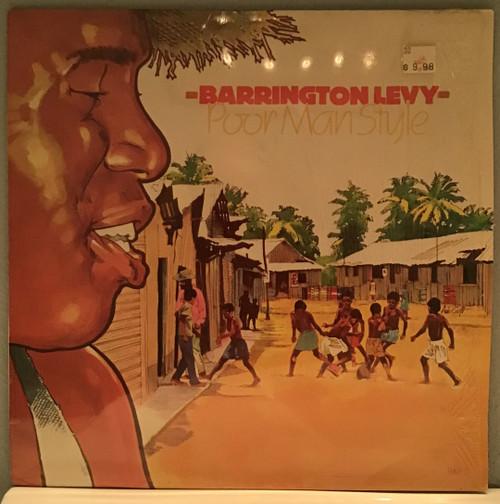 Barrington Levy- Poor Man Style vinyl record