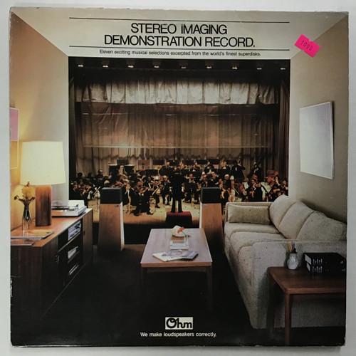 Stereo Imaging Demonstration Record Vinyl LP