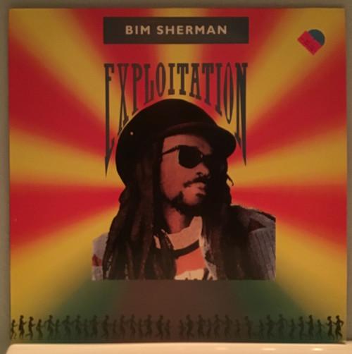 Bim Sherman - Exploitation vinyl record