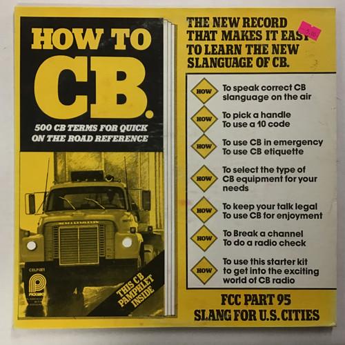 Leif Jensen - How To CB vinyl record LP