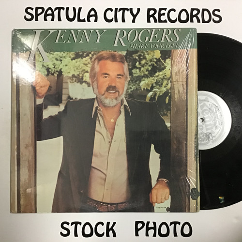 Kenny Rogers - Share Your Love vinyl record LP