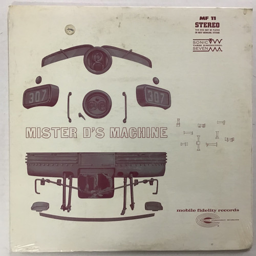 Mister D's Machine - SEALED vinyl record LP