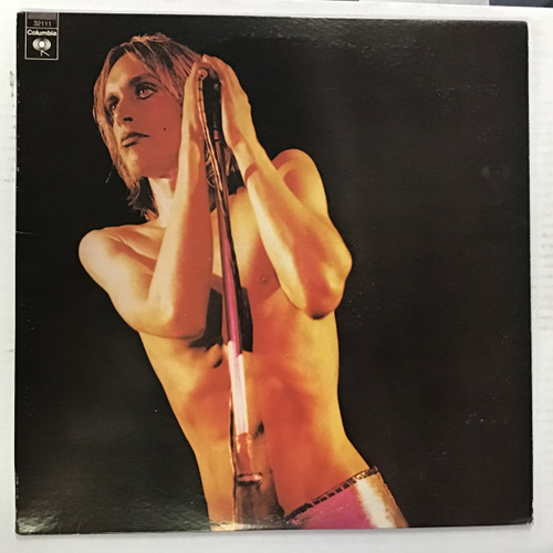 Iggy Pop - Raw Power vinyl record LP