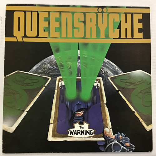 Queensryche - The Warning  - IMPORT - vinyl record LP
