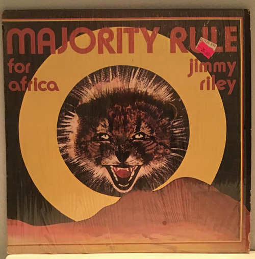 Jimmy Riley - Majority Rule For Africa vinyl record
