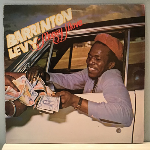 Barrington Levy- Money Move vinyl record