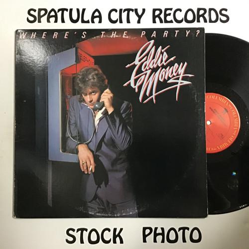 Eddie Money - Where's the Party? Vinyl record LP