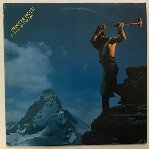 Depeche Mode - Construction Time Again - IMPORT -  vinyl record LP