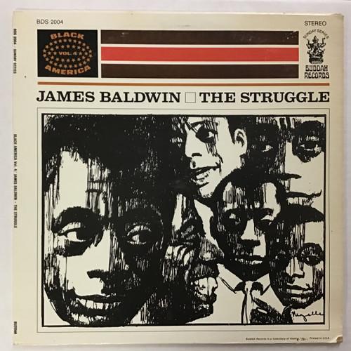 James Baldwin - The Struggle vinyl record Lp