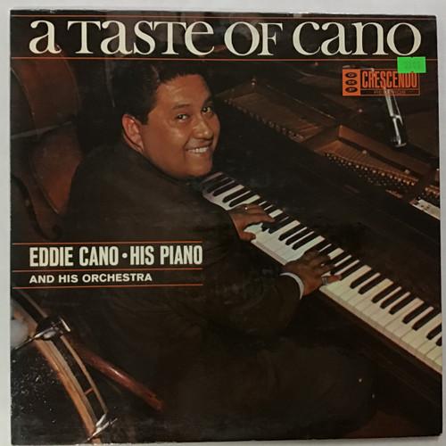 Eddie Cano, His Piano, Orchestra & Chorus – A Taste Of Cano - MONO - vinyl record LP