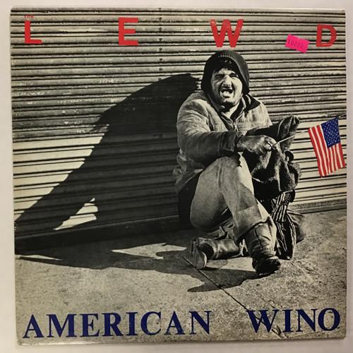 Lewd - American Wino vinyl record LP
