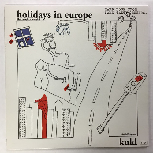 Kukl ‎– Holidays In Europe (The Naughty Nought) - IMPORT - Vinyl record LP