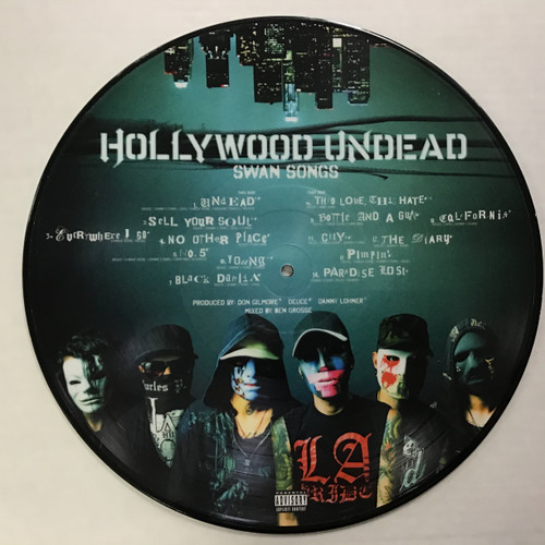 Hollywood Undead - Swan Songs - Picture Disc vinyl record LP