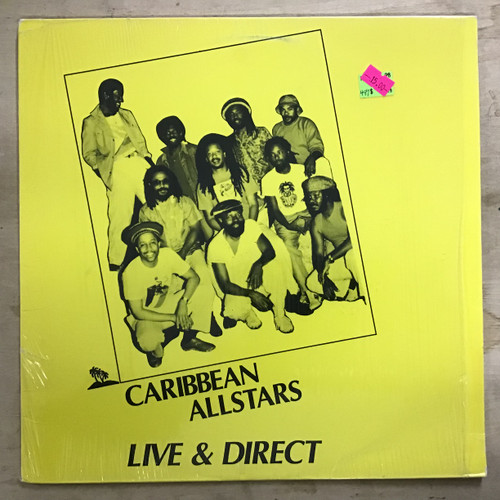Caribbean Allstars - Live & Direct vinyl record