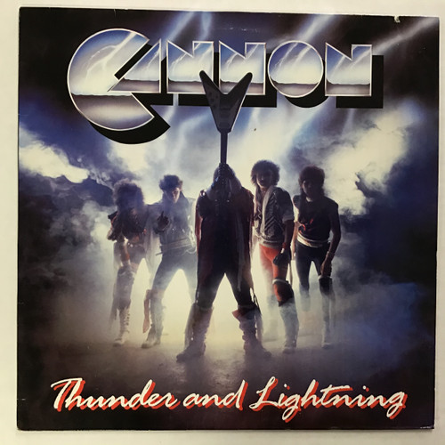 Cannon - Thunder and Lightning - IMPORT - vinyl record LP