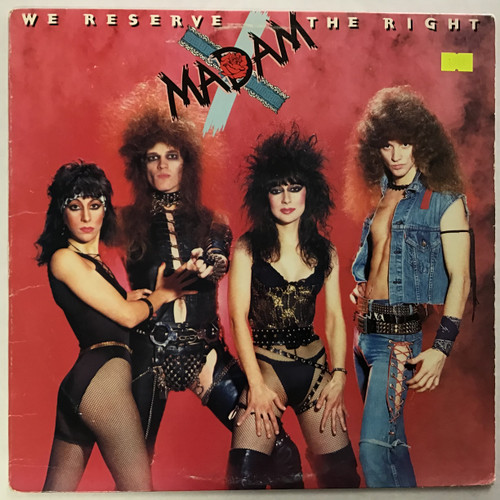 Madam X - We Reserve the Right vinyl record LP