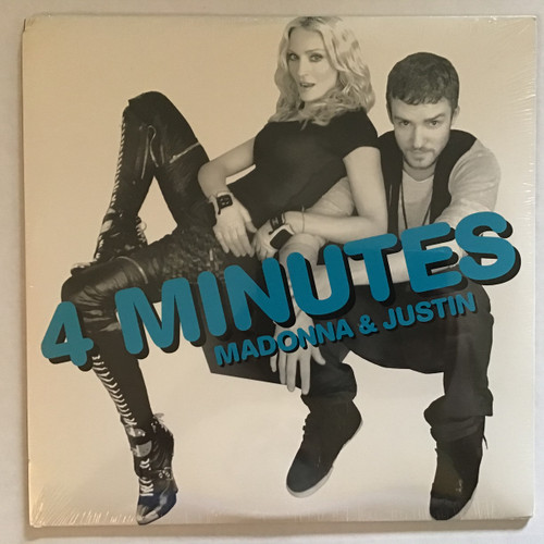 Madonna and Justin Timberlake - 4 minutes - SEALED -  vinyl record LP
