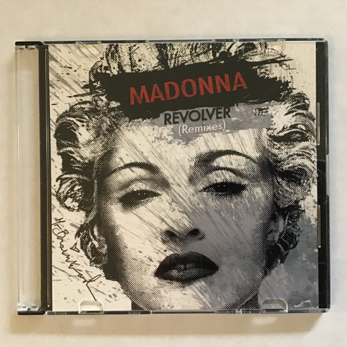 Madonna - Revolver - remixes maxi-single CDr promo