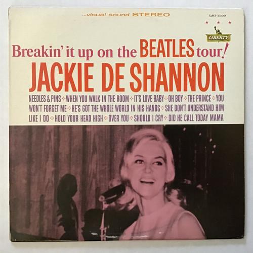 Jackie Del Shannon - Breakin' it up on the Beatles Tour! vinyl record LP