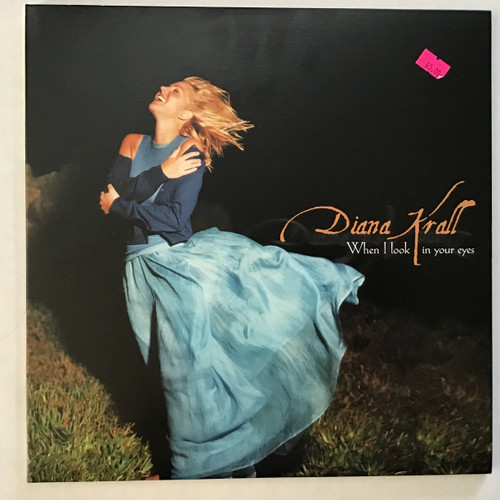 Diana Krall - When I look in your eyes vinyl record LP