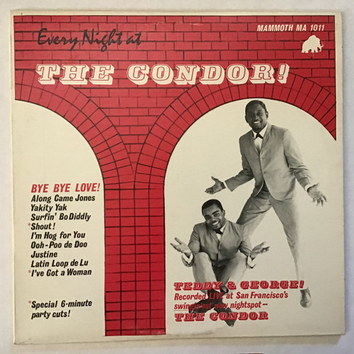 George and Teddy - Every Night at the Condor! vinyl record LP