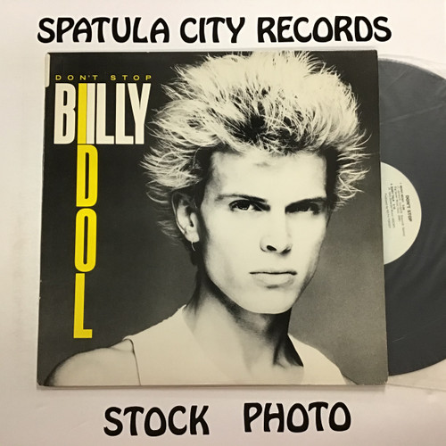 "Billy Idol - Don't Stop - 12"" single vintl record LP EP"