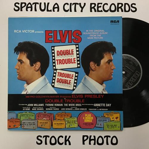 Elvis Presley - Double Trouble  - MONO -PROMO - Soundtrack vinyl record LP