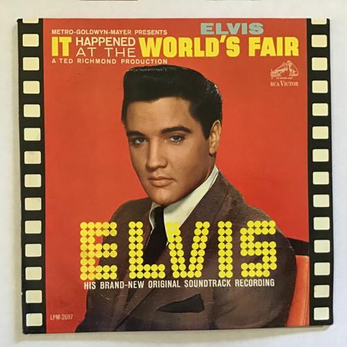 Elvis Presley - It Happened at the World's Fair - Mono vinyl Record LP