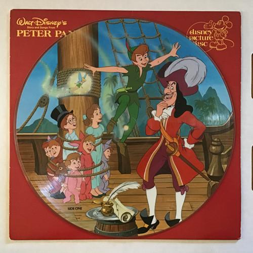 Disney - Peter Pan Soundtrack - Picture Disc vinyl record LP