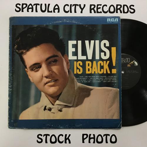 Elvis Presley - Elvis is back!  - vinyl record LP
