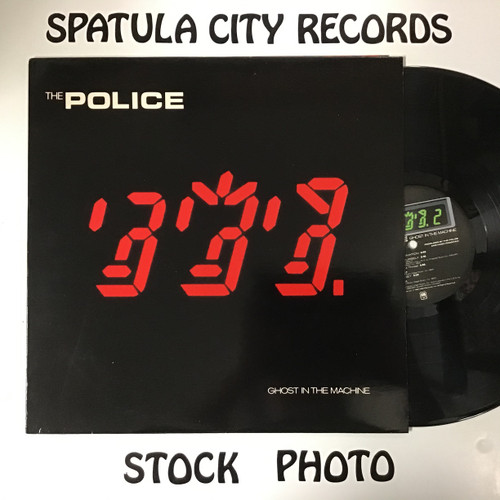 Police, the - Ghost in the Machine vinyl record LP