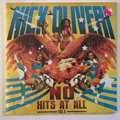 Nick Oliveri - No Hits At All Vol 4 - SEALED - vinyl record LP