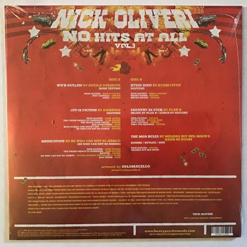 Nick Oliveri - N.O. Hits at All Vol 3 - Sealed - vinyl record LP