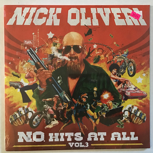 Nick Oliveri - N.O. Hits at All Vol 3 - Sealed - vinyl record LP